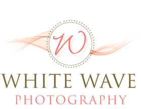 White wave logo