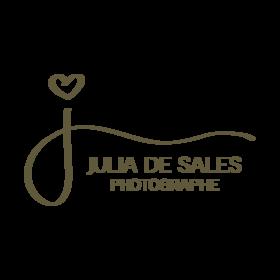 Logo juliadesales photographe bege