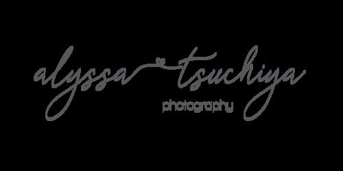 Alyssa tsuchiya photography logo