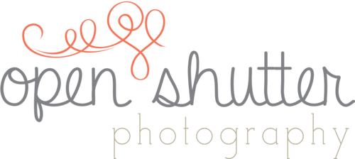 Open shutter photography logo final